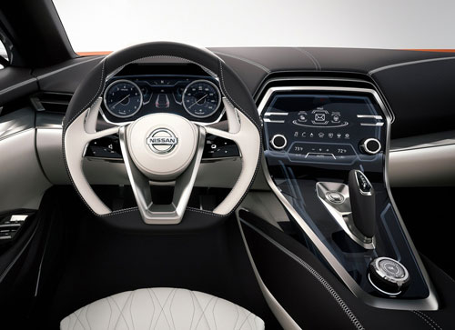 Nissan Sport Sedan Concept (interior)