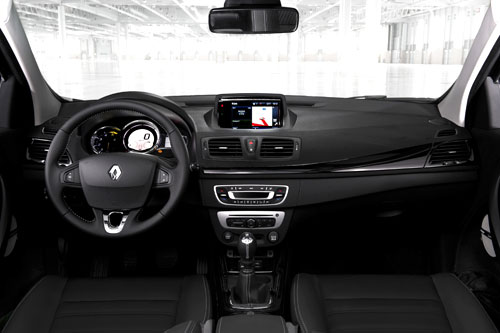 Renault Mégane (interior)