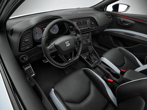 Seat León Cupra (interior)