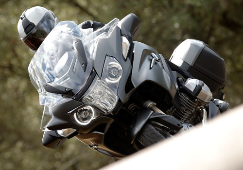 BMW R 1200 RT (detalle frontal)