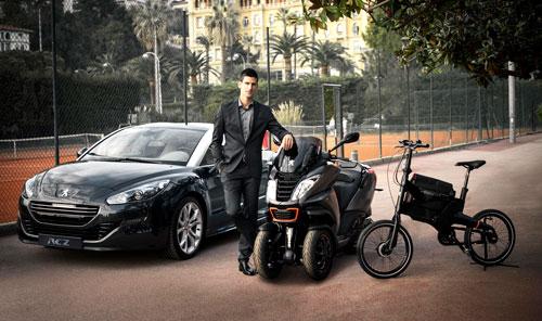 Djokovic y Peugeot