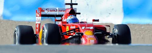 Fernando Alonso - Fórmula 1 - Test 3