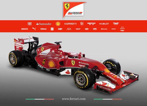 Ferrari F14 T - Fórmula 1