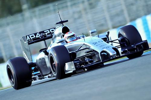 Magnussen - Fórmula 1 - Test 3