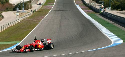 Raikkonen Ferrari F1