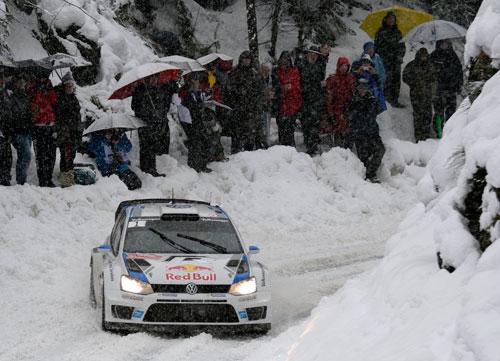 Sebastian Ogier - Rally Montecarlo