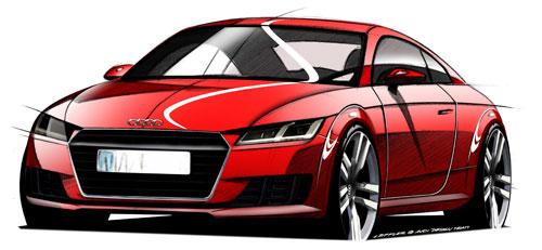 Audi TT (frontal)