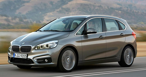 BMW Serie 2 Active Tourer (frontal)