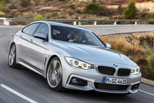 BMW Serie 4 Gran Coupé (frontal)