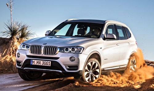BMW X3 (frontal)