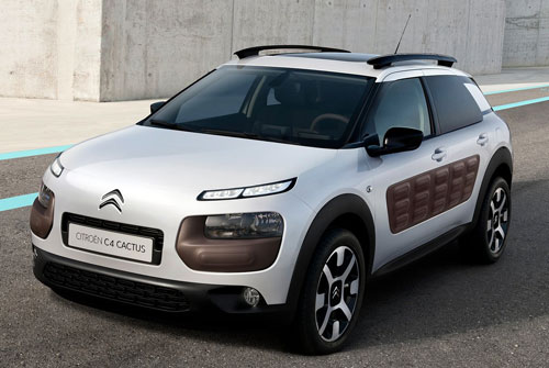 Citroën C4 Cactus (frontal)