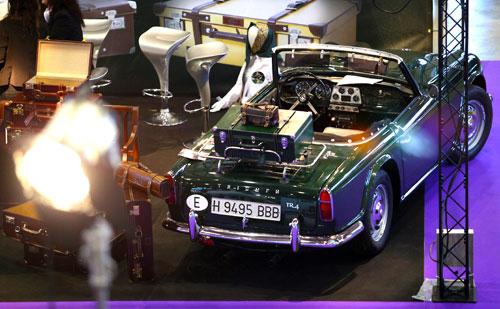 Triumph TR4, deportivo inglés que se fabricó desde 1961 hasta 1967.