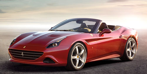 Ferrari California T (frontal)