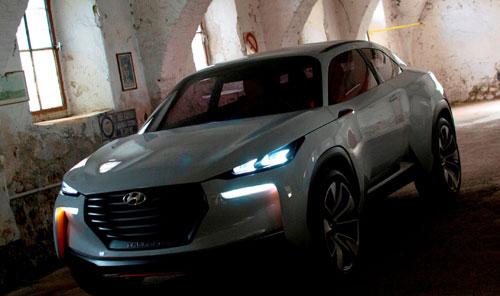 Hyundai Concept Intrado (frontal)