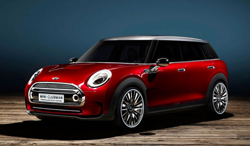 Mini Clubman Concept (frontal)