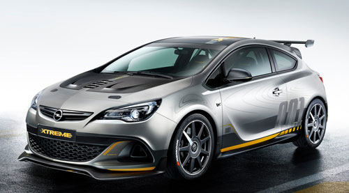 Opel Astra OPC Extreme (frontal)