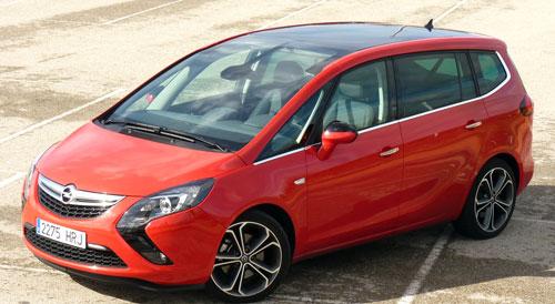 Opel Zafira (frontal)