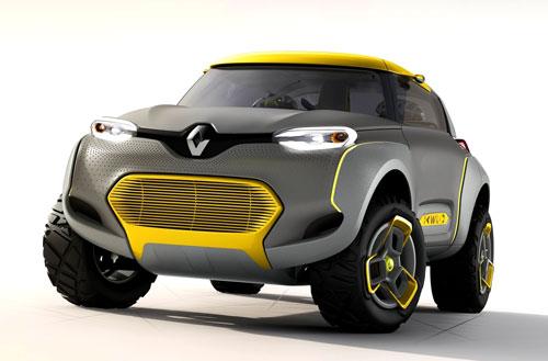 Renault Kwid Concept (frontal)