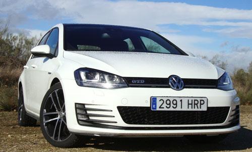 VW Golf GTD (frontal)