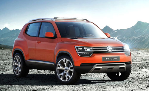 VW Taigun Concept (frontal)