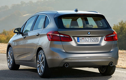 BMW Serie 2 Active Tourer (trasera)