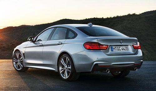 BMW Serie 4 Gran Coupé (trasera)