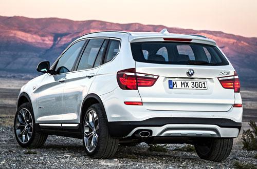 BMW X3 (trasera)