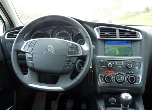 Citroën C4 (interior)