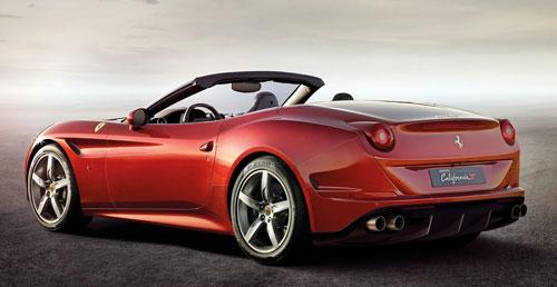 Ferrari California T (trasera)