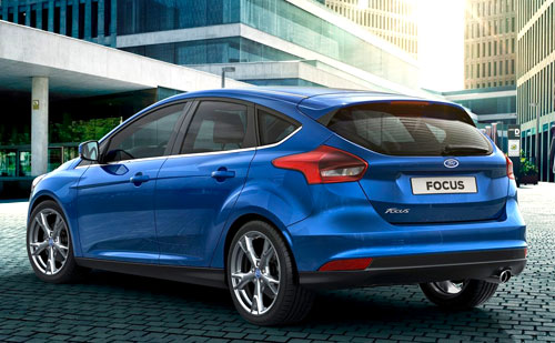 Ford Focus (trasera)