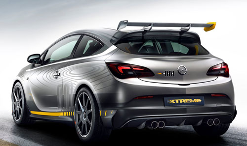 Opel Astra OPC Extreme (trasera)