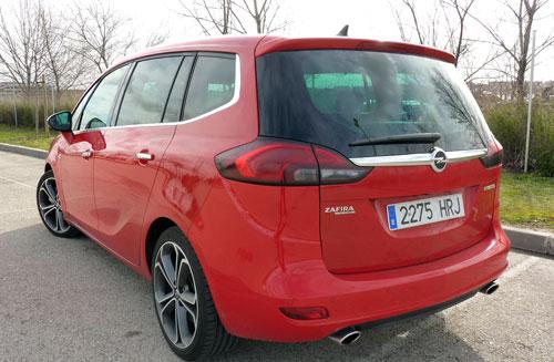 Opel Zafira (trasera)