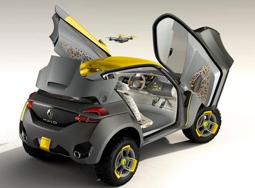 Renault Kwid Concept (trasera)