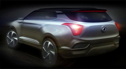 SsangYong XLV Concept (trasera)