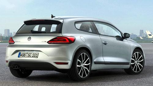 Volkswagen Scirocco (trasera)