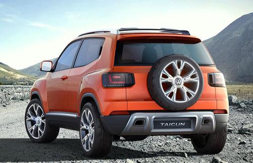 VW Taigun Concept (trasera)