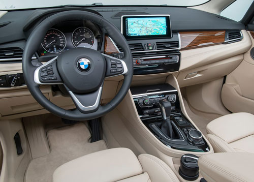 BMW Serie 2 Active Tourer (interior)