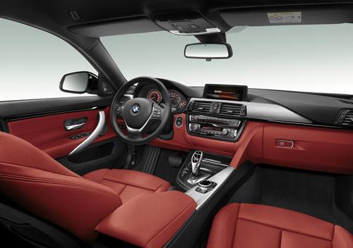 BMW Serie 4 Gran Coupé (interior)