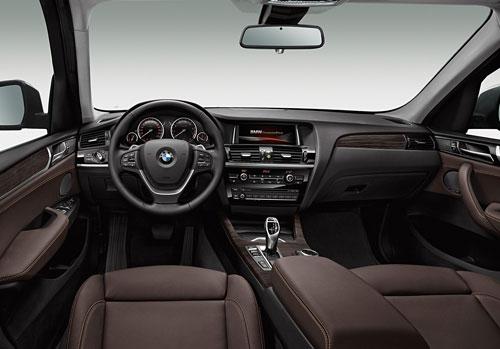 BMW X3 (interior)