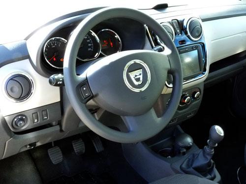 Dacia Lodgy (interior)