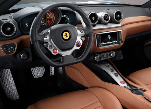 Ferrari California T (interior)