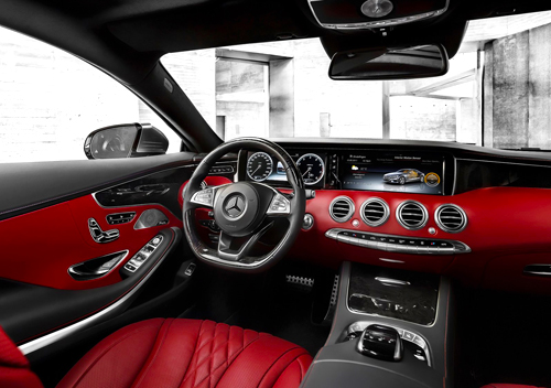 Mercedes-Benz S Coupé (interior)