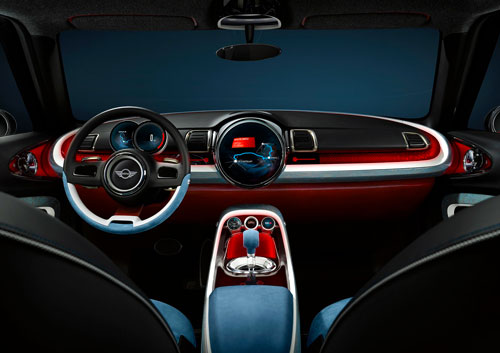 Mini Clubman Concept (interior)