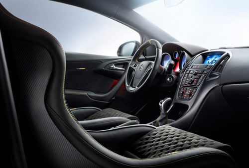 Opel Astra OPC Extreme (interior)