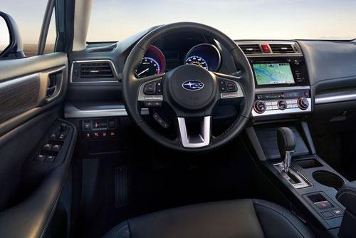 Subaru Legacy (interior)