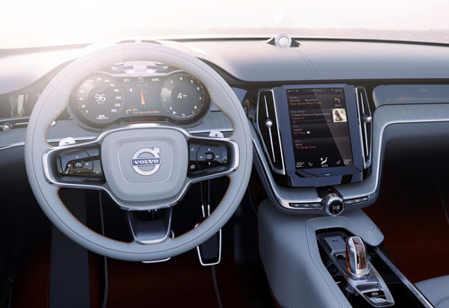 Volvo Estate Concept (interior)