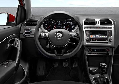 VW Polo (interior)