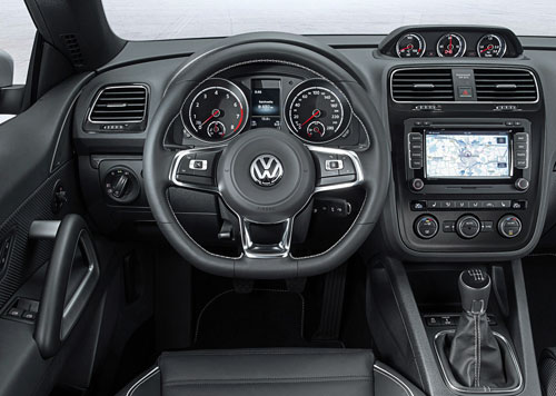 Volkswagen Scirocco (interior)