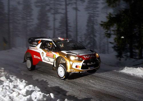 Ostberg (tercero) WRC