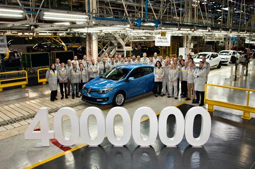 Renault Mégane 4 millones